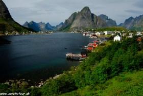 Turistika za polárnym kruhom Lofoty a Nordkapp - Nórsko