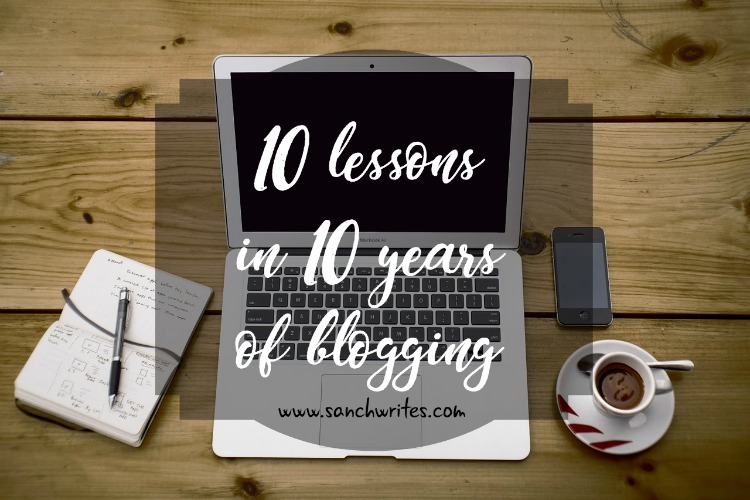 10 lessons in 10 years of blogging
