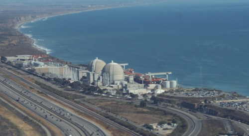 San Onofre Nuclear Generating Station. Photo by Andrea Swayne
