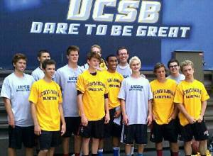The San Clemente boys basketball team captured the UCSB Team Camp Tournament on June 30.