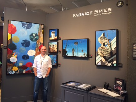 San Clemente artist Fabrice Spies is known for his detailed artwork. He is being featured at the Festival of the Arts until Aug. 31 in Laguna Beach.