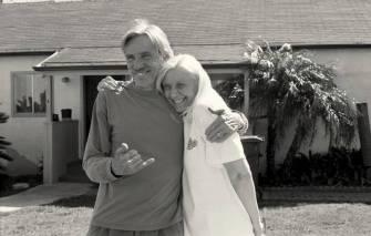 Dick McCoy and Mala Zarr-McCoy. Photo: Ed Templeton