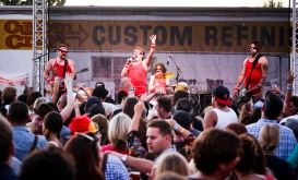 The band Flashpants performed at last year's San Clemente Oktoberfest. Photo: Courtesy