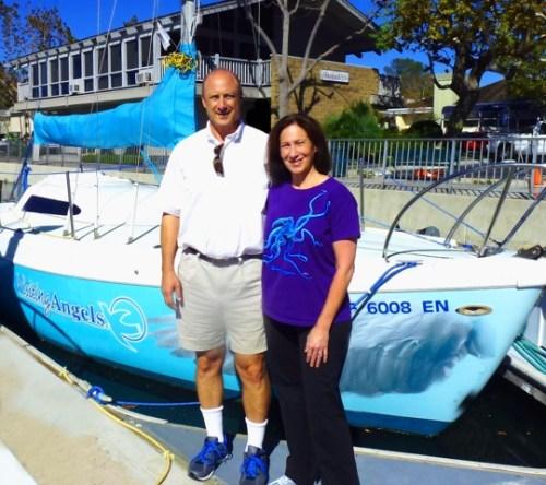 David and Pamela Jackson. Photo: Courtesy