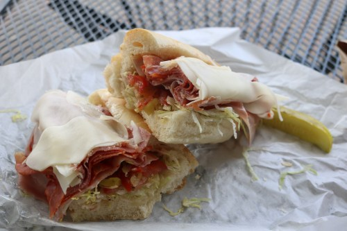 The Italian Sub from Tina and Vince's in San Clemente. Photo: Matt Cortina