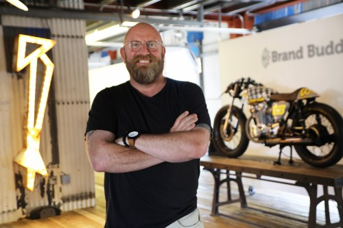 BrandBuddha: Paul Saunders has been in marketing and advertising for about 30 years. His new company, Brand Buddha, a marketing company, will host a grand opening on July 29. Photo: Courtesy
