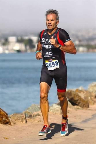 Kevin Herbert has completed over 50 triathlons and seven Ironman races over the last 17 years. Photo: Courtesy