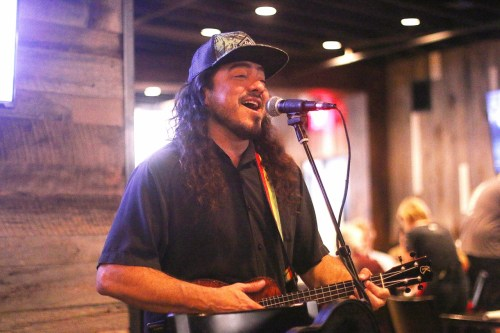 Bruddah Adrian can be found performing at H.H. Cotton's in San Clemente regularly on Friday nights. Photo: Eric Heinz