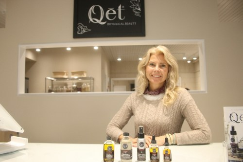 Lisa Brill, owner of Qēt Botanicals, started creating her own skincare products after trying out her own at-home remedies. Photo: Eric Heinz