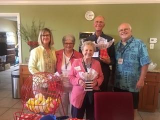 San Clemente Village board members Jeralyn Peters, Maria Gladd, Jan Lee-Thorp, Tom Shoden, Gordon Hasenbein. Photo: Courtesy of San Clemente Village