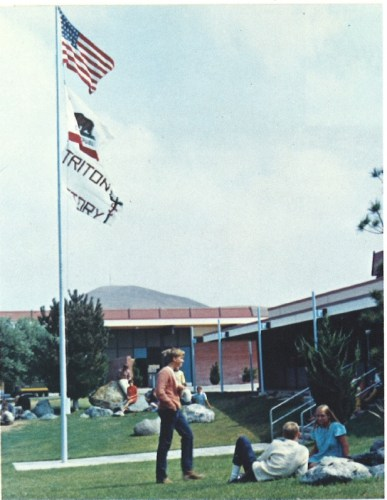 San Clemente High School pictured in this yearbook photo from  1969. Photo: Courtesy of San Clemente High School
