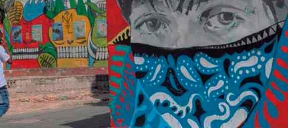 Barrio capitalino San Isidro utiliza WhatsApp en función de potenciar el arte