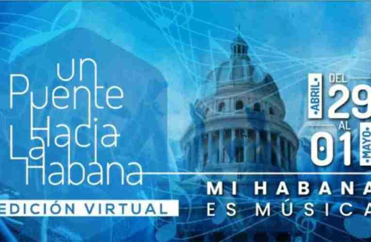Anuncian un puente virtual porque Mi Habana es Música