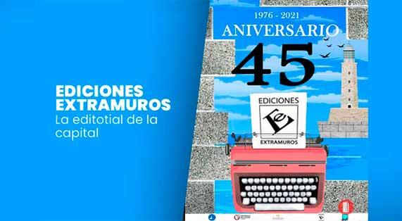 Ediciones Extramuros de aniversario
