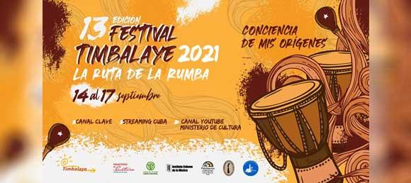 XIII Festival Timbalaye 2021