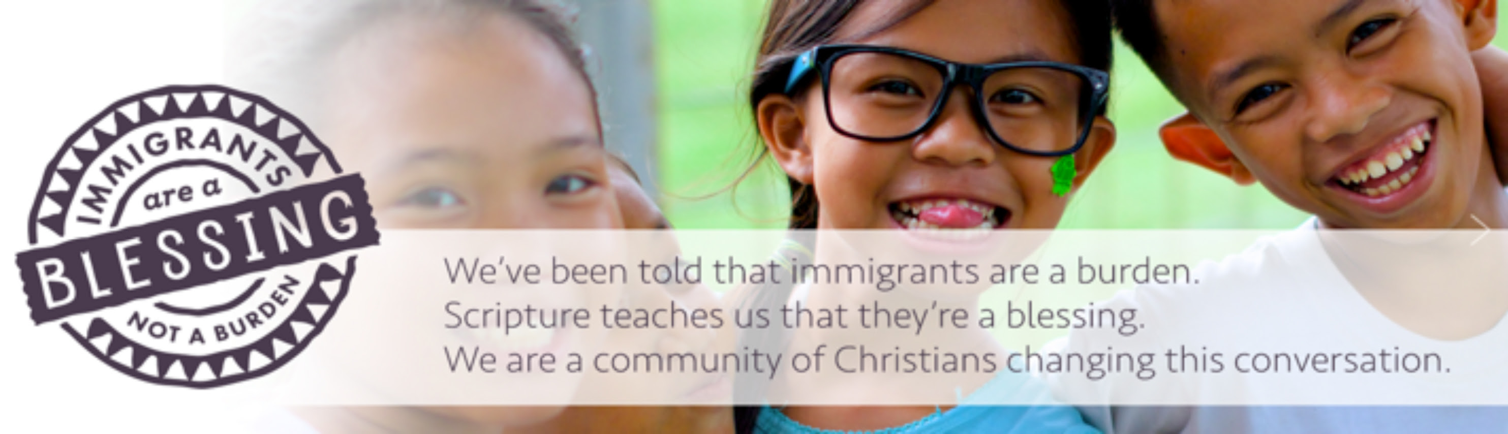 Launch Of Immigrants Are A Blessing Not A Burden Campaign