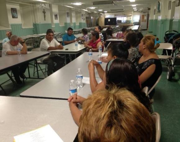 Community meeting after Supreme Court's negative decision on Deferred Action