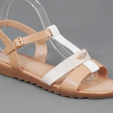 Sandale dama bej Lania