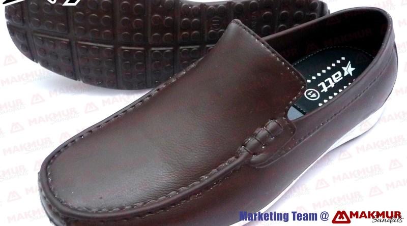 Sepatu ATT PHW 001 Warna Dark Brown @ Toko Sandal Makmur