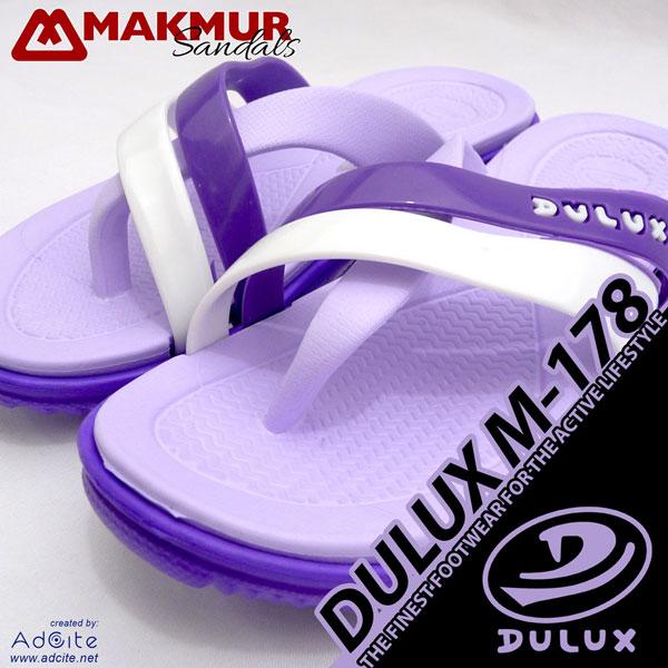 Sandal Karet Wanita Dulux M 178 Violet