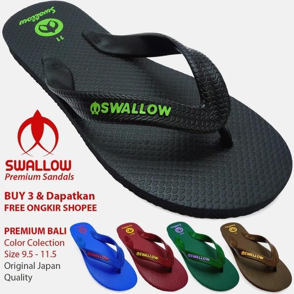 Sandal Swallow Premium Bali Warna dan Ukuran