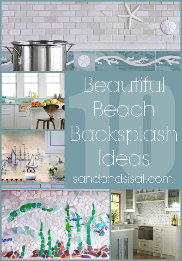 coastal and beach backsplash ideas