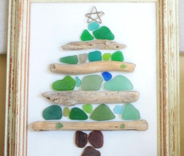 Seaglass Driftwood Craft