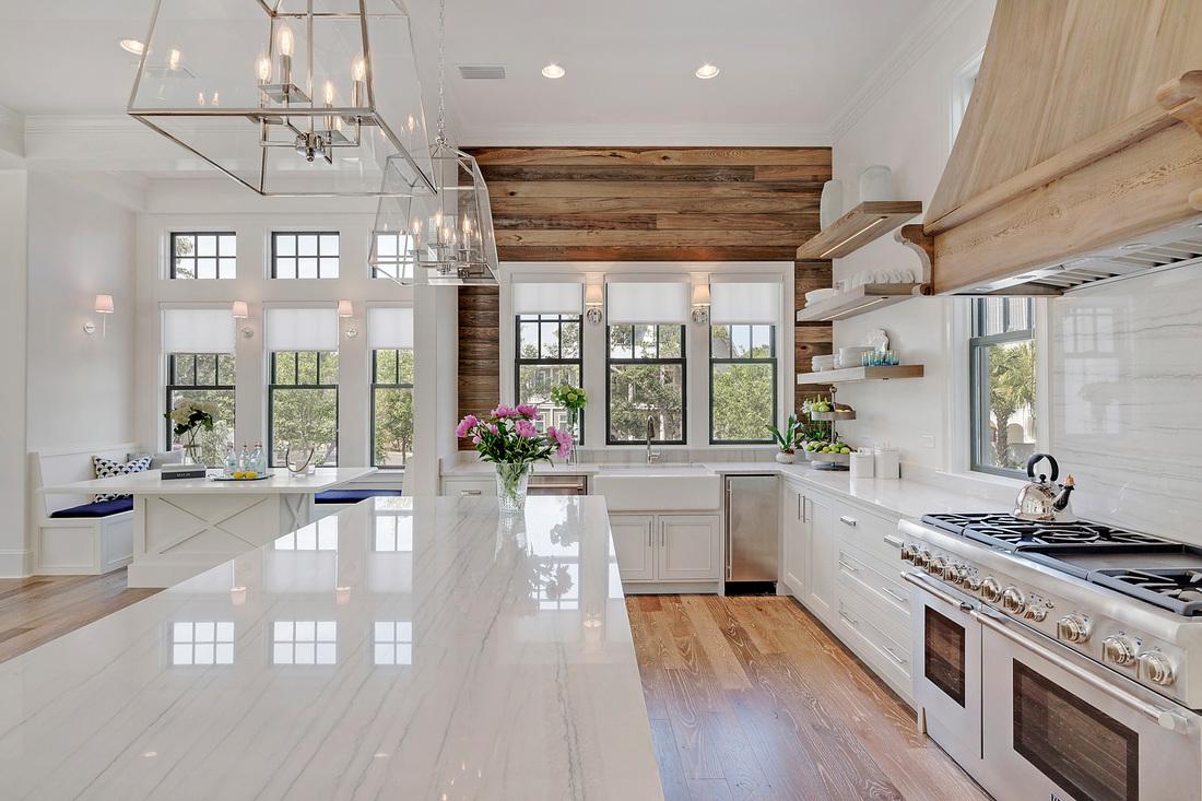 Best Kitchen Gallery: Choosing Hardwood Floor Stains of Weathered Oak Kitchen Cabinets on rachelxblog.com