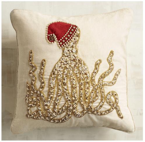 25 Festive Coastal Christmas Pillows Sand And Sisal