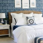 Coastal Blues Master Bedroom Makeover Sand And Sisal