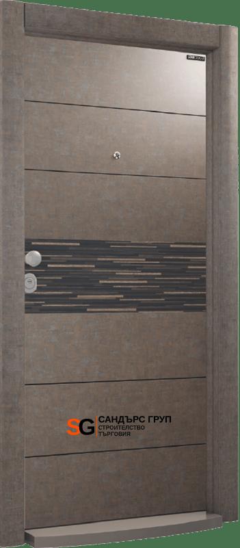 Италиански стил L 214 Grey Stone/Black Massive