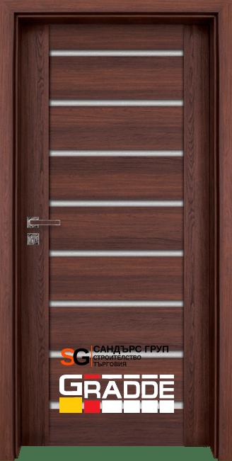 Интериорна врата Gradde Axel Glas ШВЕДСКИ ДЪБ