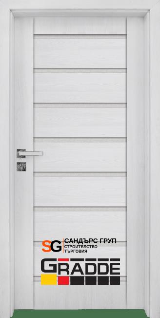Интериорна врата Gradde Axel Glas СИБИРСКА ЛИСТВЕНИЦА