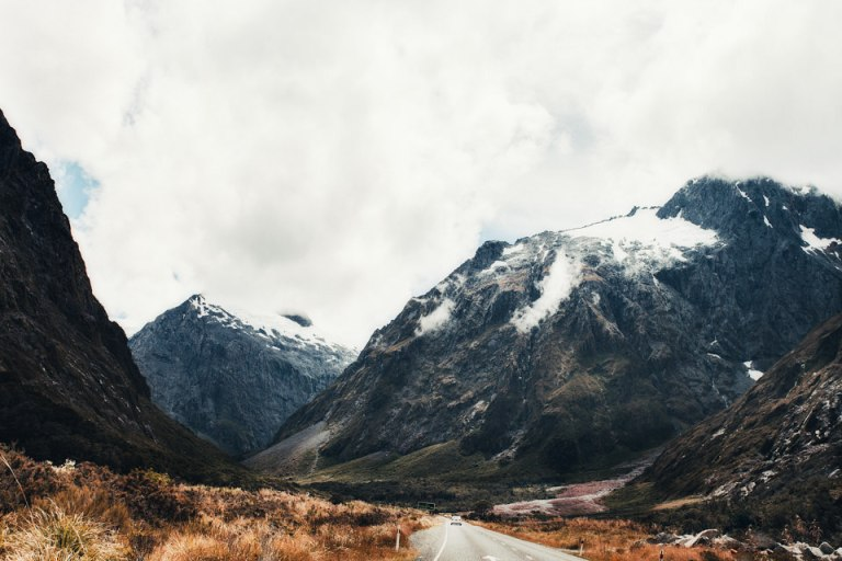 Traveling to Milford Sound
