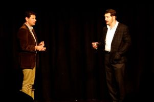 Ryan Hill, Brandon Ewald in Sandbox Theatre's Summer Suitcase (2013)