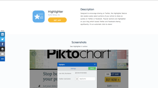 sumome highlighter growth hacking tools
