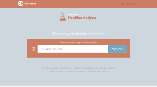 headline analyzer growth hacking tools