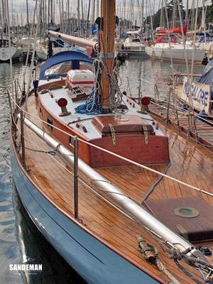 Arthur Robb Lion Class Sloop 1953 Sandeman Yacht Company