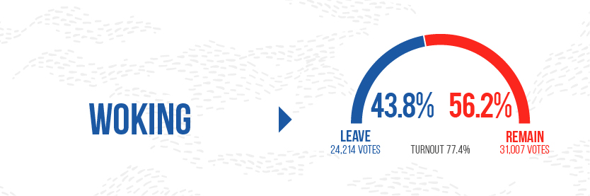 Brexit Graphics - Woking