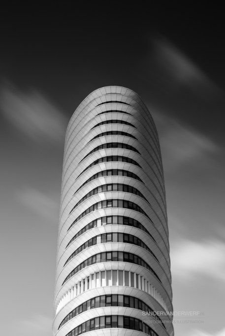 DUO long exposure in Black & White.