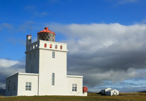 Dyrholaey lighthouse.