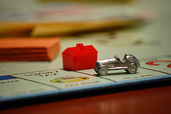 Monopoly Roadster And House Pieces