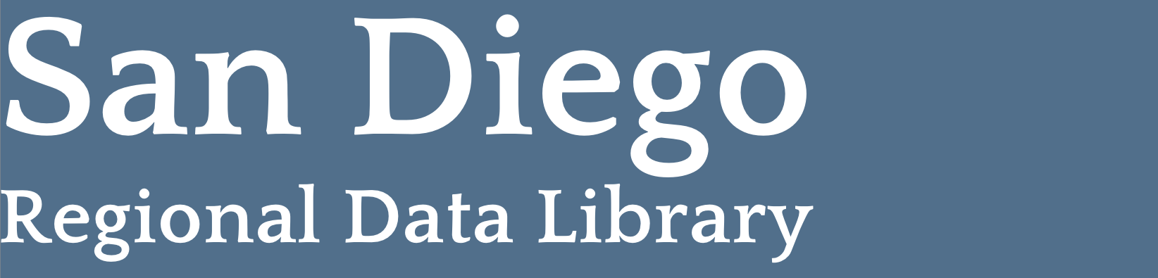 San Diego Regional Data Library