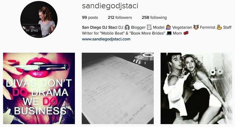Instagram - DJ Staci - 3 22 17