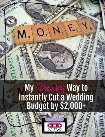 Sneaky Way Instantly Cut Wedding Budget by $2,000