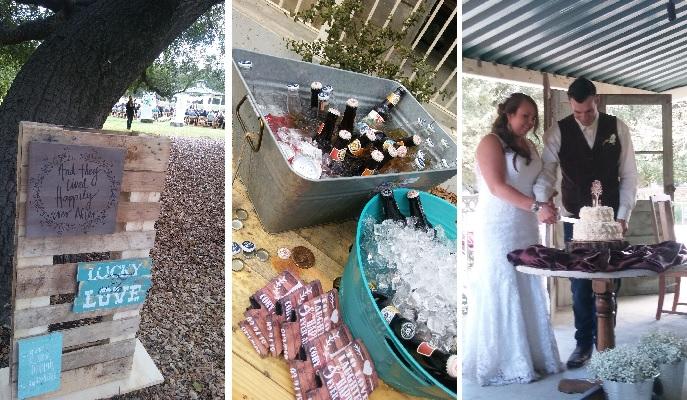Jenna & Cory's Farm-Inspired Dos Picos Park Wedding · San