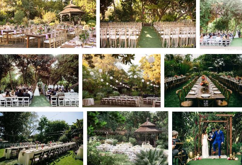 9 San Diego Garden Wedding Venues San Diego Dj Staci Collective