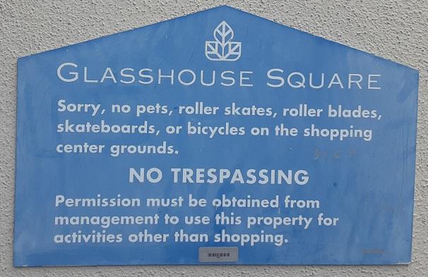GlassHouse Square Placard