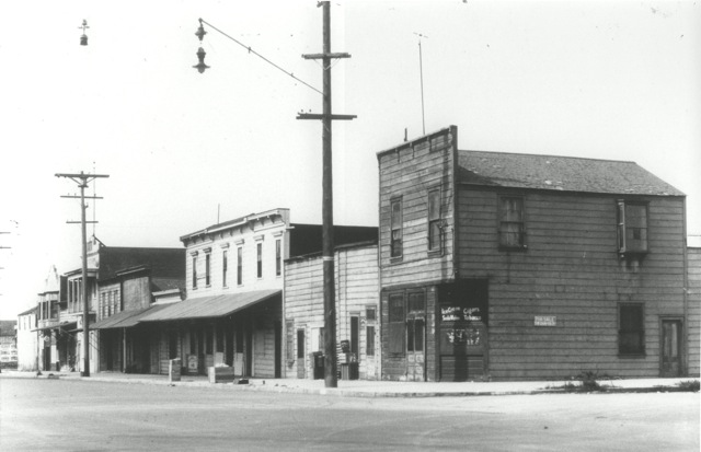 San Diego late era Chinatown view Third Street courtesy San Diego Chinese Historical Society & Museum and San Diego History Center.