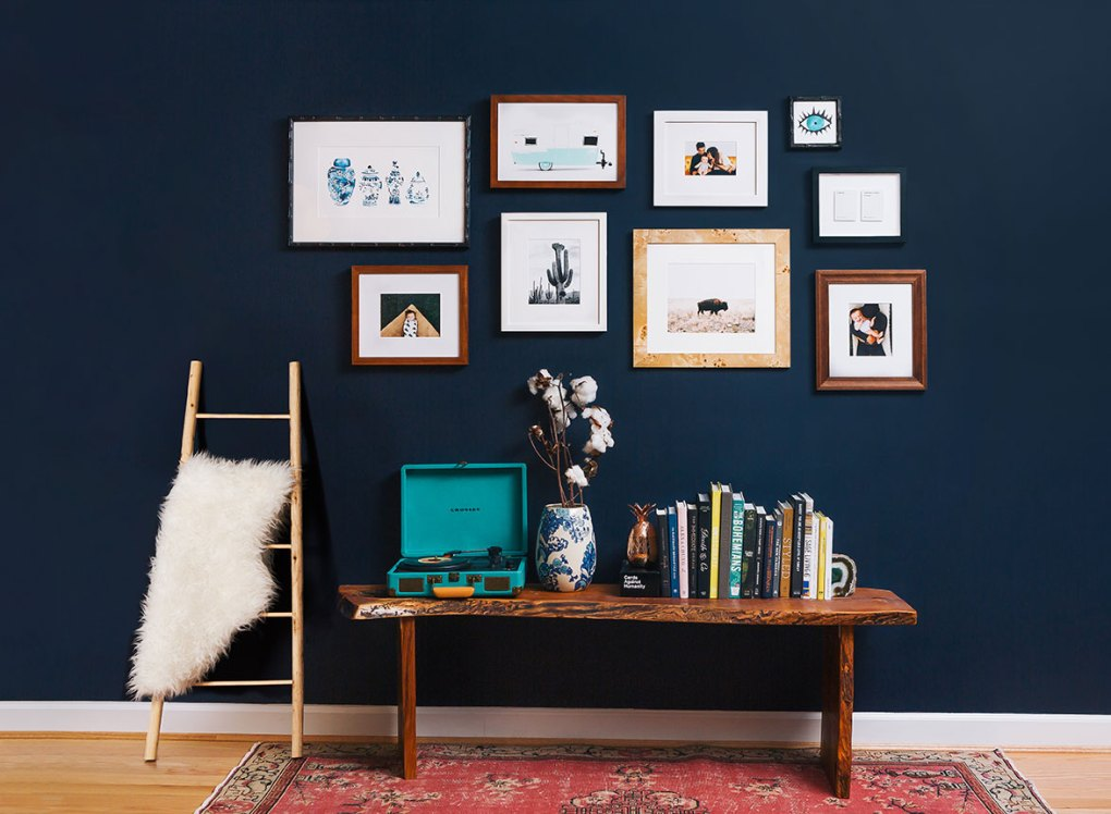 Gallery Walls Bring It All Together - San Diego Home/Garden Lifestyles